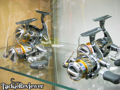 Latest Shimano spinning reels. Recognize the Stella?