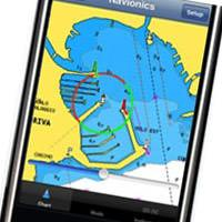 iphone navionics app preview