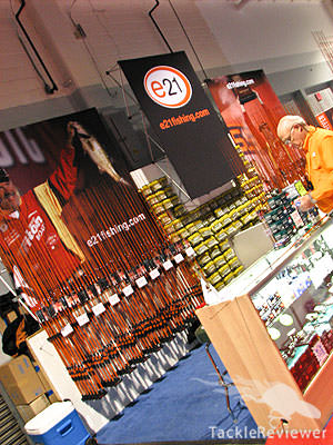 E21 Rods Classic expo booth