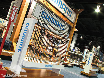 Shimano Bassmaster Classic booth