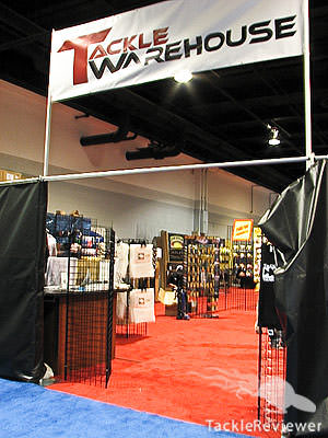 Tackle Warehouse Classic booth