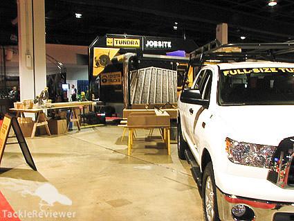 Toyota Trucks Classic booth