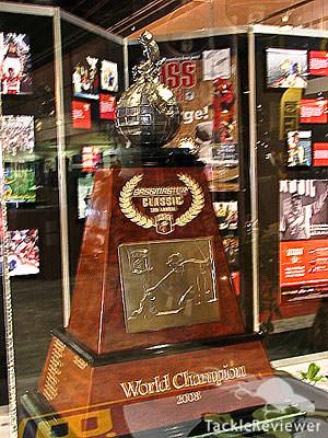 2008 Bassmaster Classic Trophy
