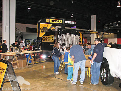 Toyota's Bassmaster Classic Booth
