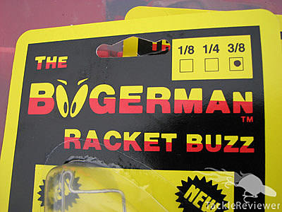 Boogerman Racket Buzzbait Packaging