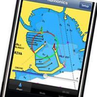iphone navionics app preview
