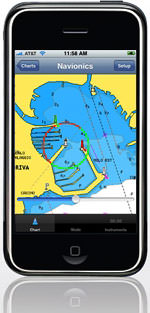 iphone navionics