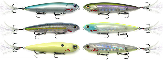 Paycheck Baits Repo Man topwater colors